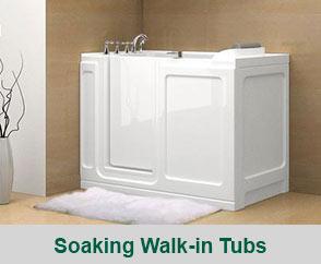 Soaking Walk-In Tubs