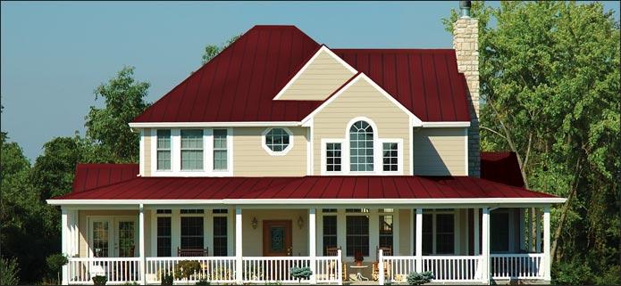 Residential Steel Roofing At Menards 174