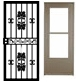 Millwork_Exterior Doors_Security & Storm Screen Doors_Standard
